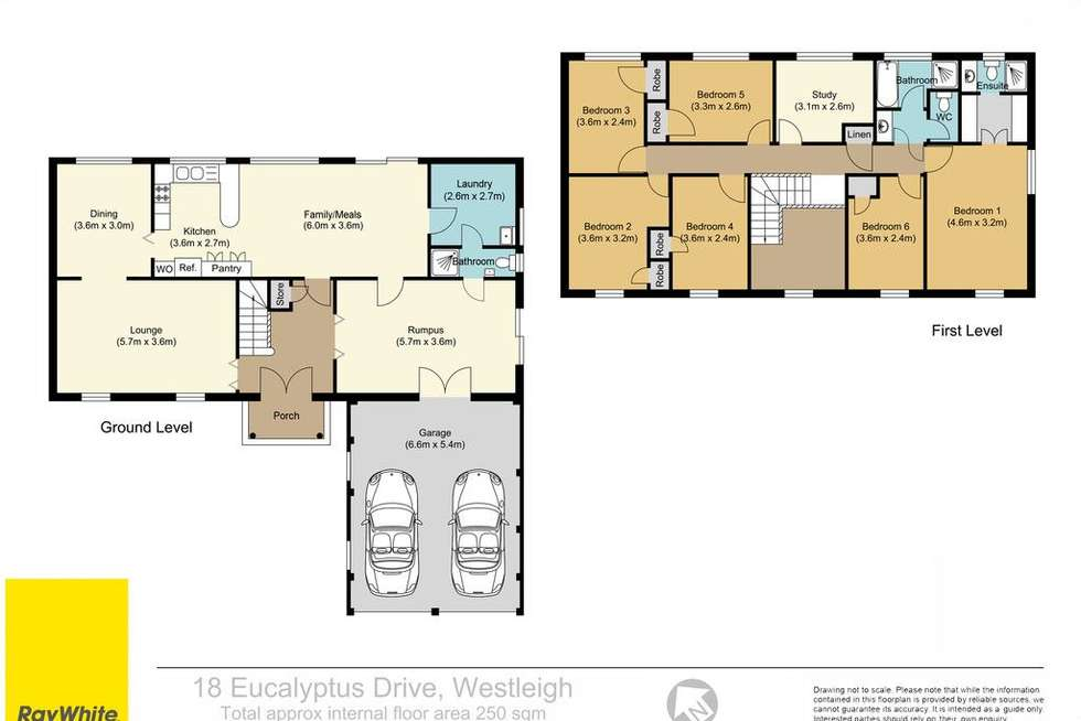 Floorplan of Homely house listing, 18 Eucalyptus Drive, Westleigh NSW 2120