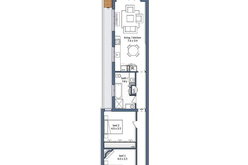 Floorplan of Homely house listing, 135 Stanmore Road, Stanmore NSW 2048