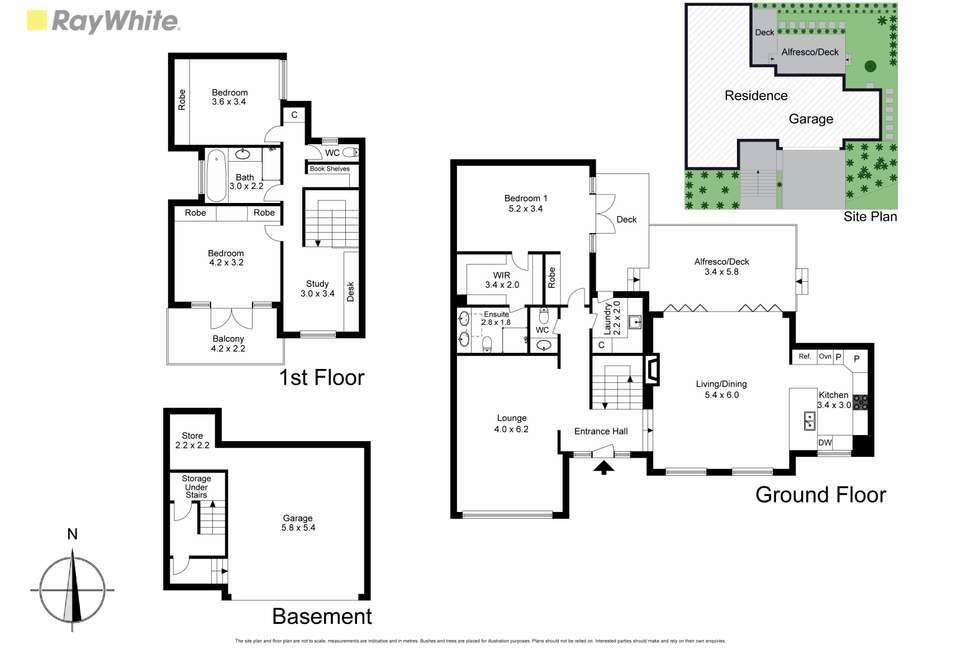 Floorplan of Homely house listing, 9a Mowbray Street, Hawthorn East VIC 3123