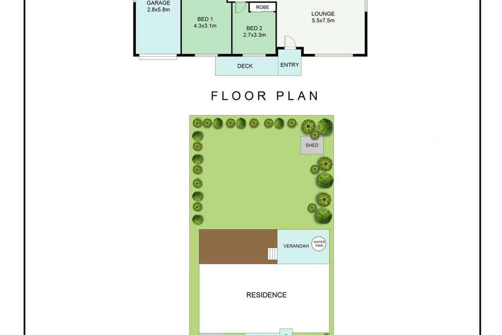 Floorplan of Homely house listing, 13 Mayfair Street, Alexandra Hills QLD 4161