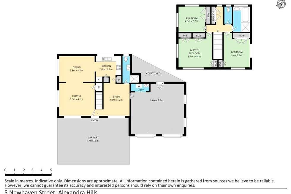 Floorplan of Homely blockOfUnits listing, 5 Newhaven Street, Alexandra Hills QLD 4161