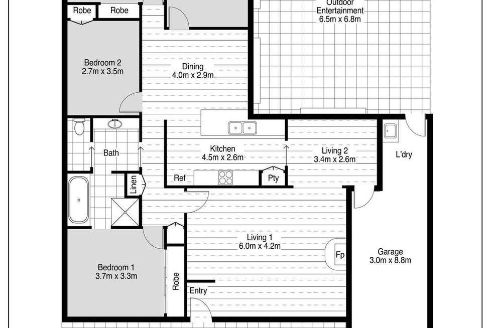 Floorplan of Homely house listing, 19 Hockeys Lane, Cambewarra NSW 2540