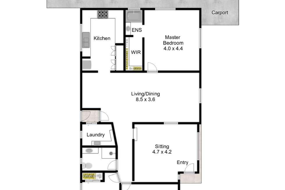Floorplan of Homely house listing, 36 Rowe Terrace, Darra QLD 4076