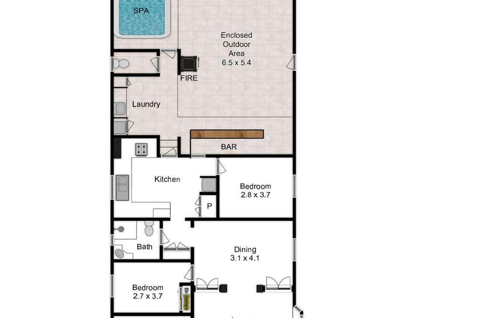 Floorplan of Homely house listing, 17 Goodwin Terrace, Moorooka QLD 4105