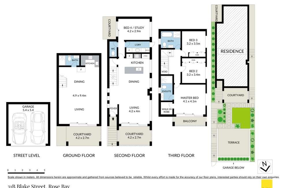 Floorplan of Homely house listing, 31B Blake Street, Rose Bay NSW 2029