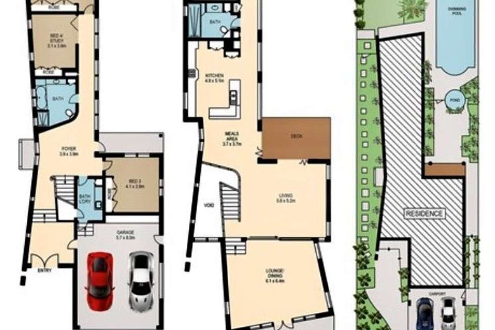 Floorplan of Homely house listing, 7 Apex Street, Clayfield QLD 4011