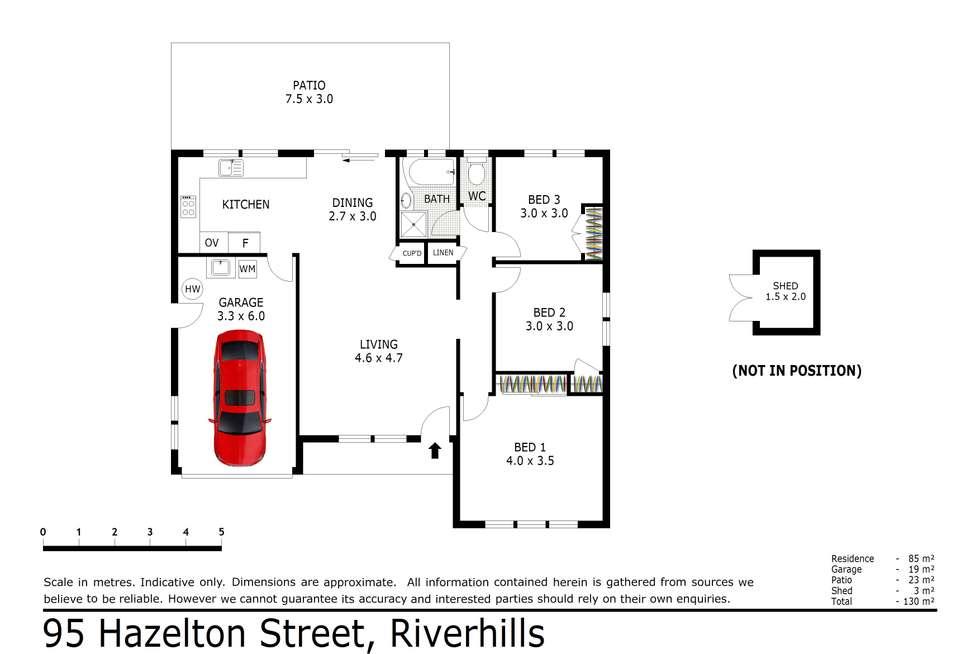 Floorplan of Homely house listing, 95 Hazelton Street, Riverhills QLD 4074