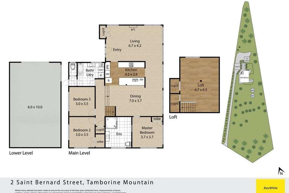 Floorplan of Homely house listing, 2 St Bernard Street, Tamborine Mountain QLD 4272
