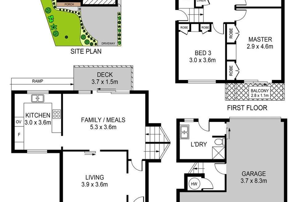 Floorplan of Homely house listing, 6 Nias Place, Schofields NSW 2762