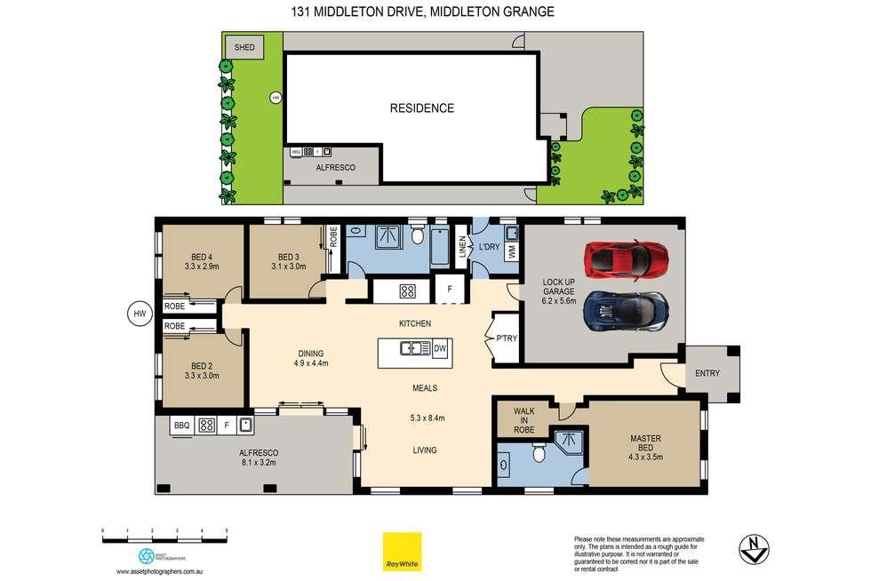 Floorplan of Homely house listing, 131 Middleton Drive, Middleton Grange NSW 2171