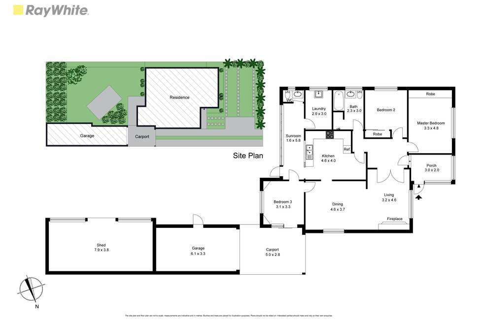 Floorplan of Homely house listing, 244 Warrigal Road, Oakleigh South VIC 3167