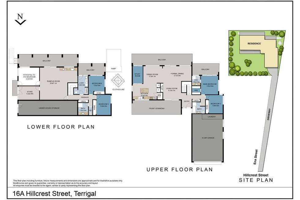 Floorplan of Homely house listing, 16A Hillcrest Street, Terrigal NSW 2260