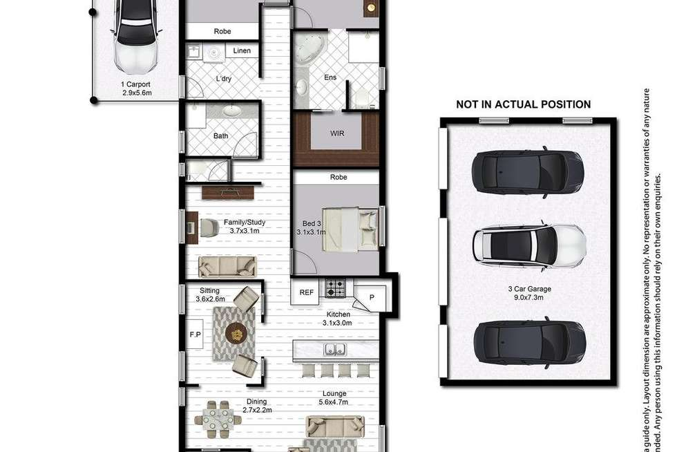 Floorplan of Homely house listing, 10 Wills Avenue, Golden Beach QLD 4551
