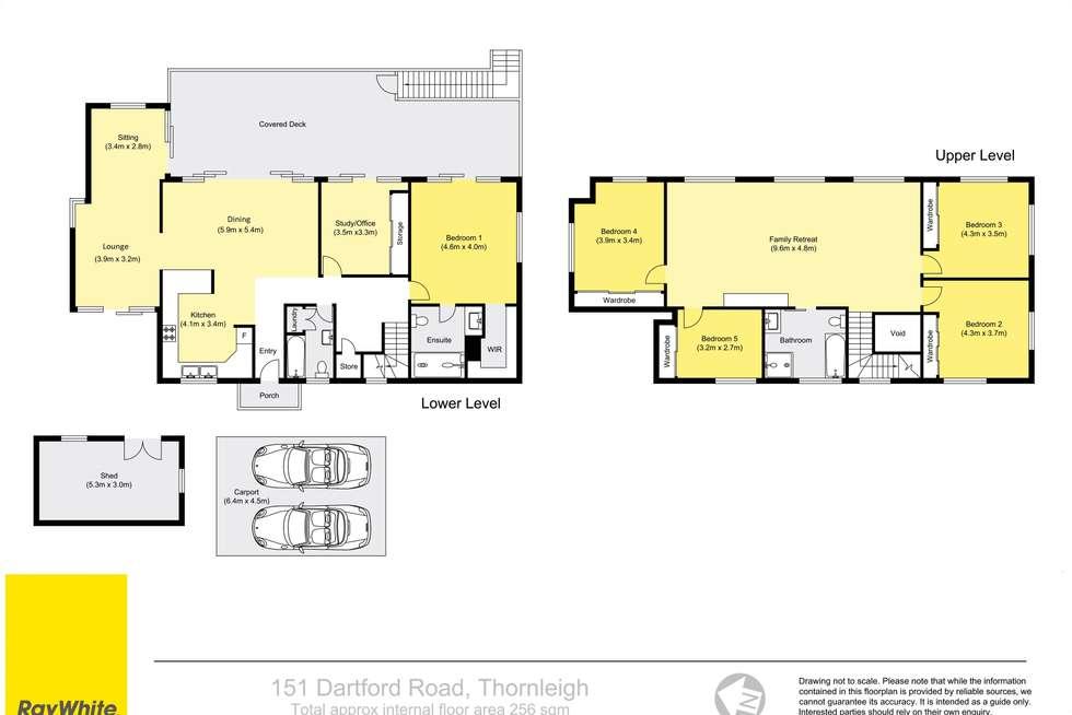 Floorplan of Homely house listing, 151 Dartford Road, Thornleigh NSW 2120