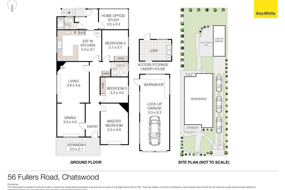 Floorplan of Homely house listing, 56 Fullers Road, Chatswood NSW 2067