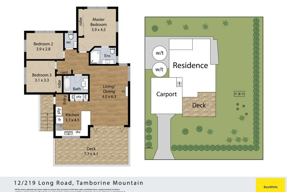 Floorplan of Homely house listing, 12/219 Long Road, Tamborine Mountain QLD 4272