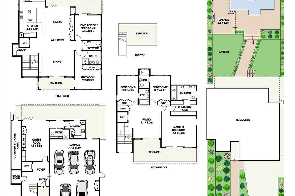 Floorplan of Homely house listing, 16 Napier Street, Dover Heights NSW 2030