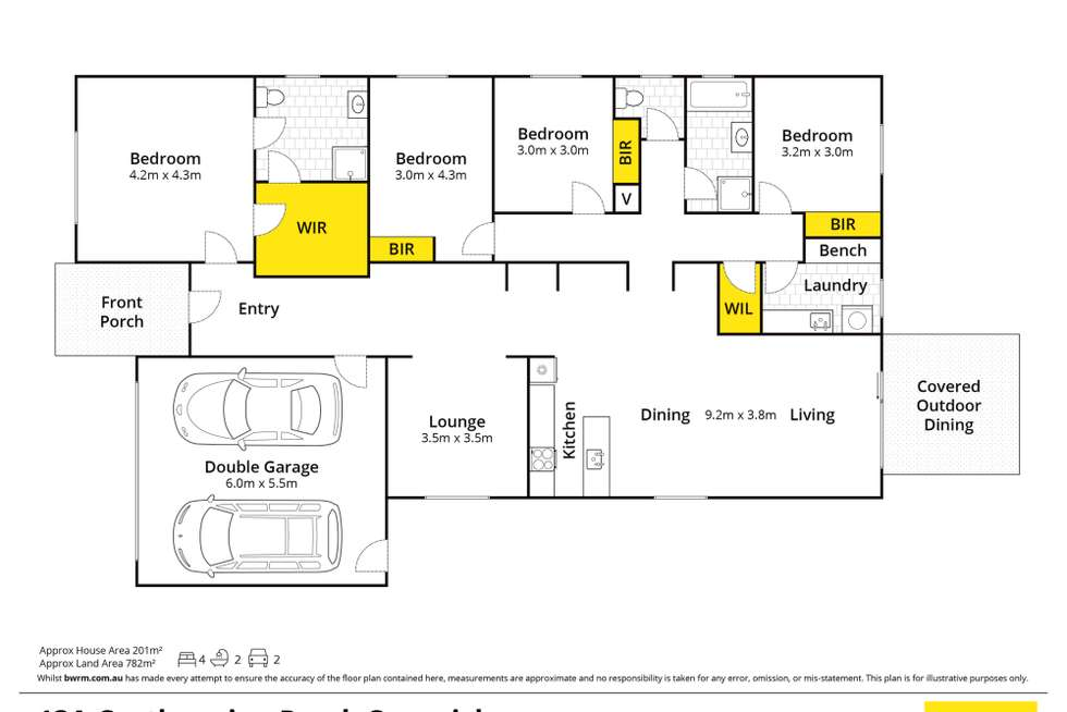 Floorplan of Homely house listing, 13A Castlemaine Road, Creswick VIC 3363