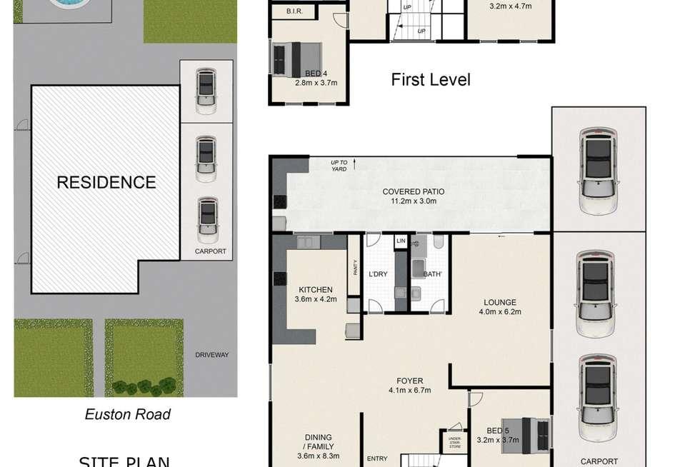 Floorplan of Homely house listing, 13 Euston Road, Auburn NSW 2144