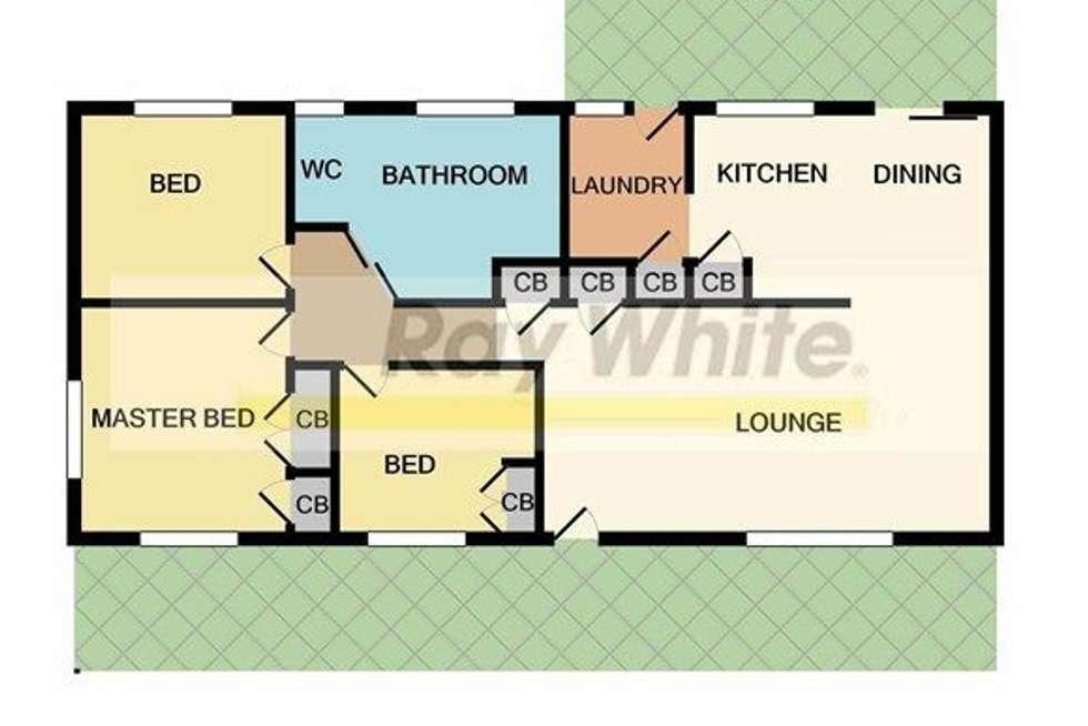 Floorplan of Homely house listing, 10 Tonya Court, Woodridge QLD 4114