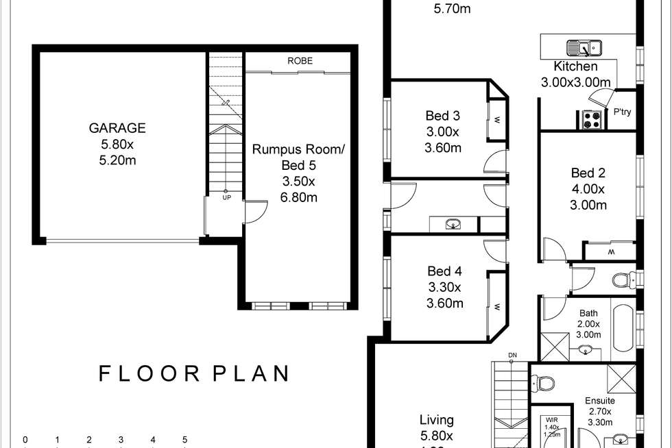 Floorplan of Homely house listing, 11A Gumnut Rise, Strathdale VIC 3550