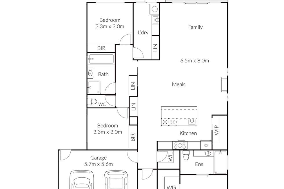 Floorplan of Homely house listing, 17 Spotted Gum Drive, Lara VIC 3212