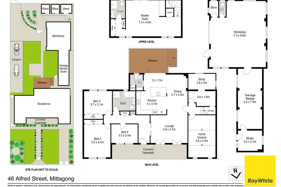 Floorplan of Homely house listing, 46 Alfred Street, Mittagong NSW 2575
