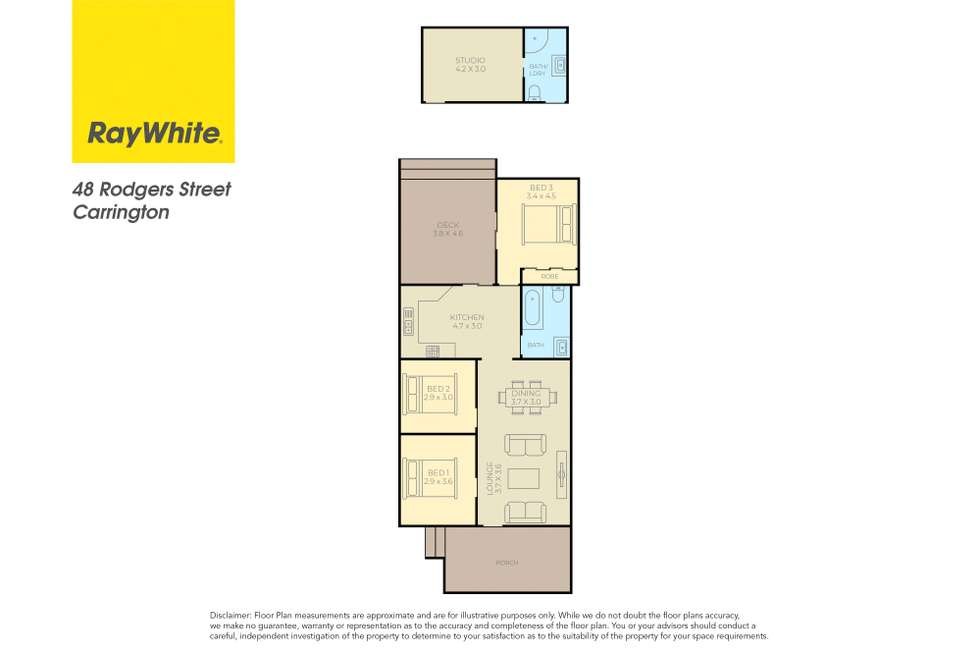 Floorplan of Homely house listing, 48 Rodgers Street, Carrington NSW 2294