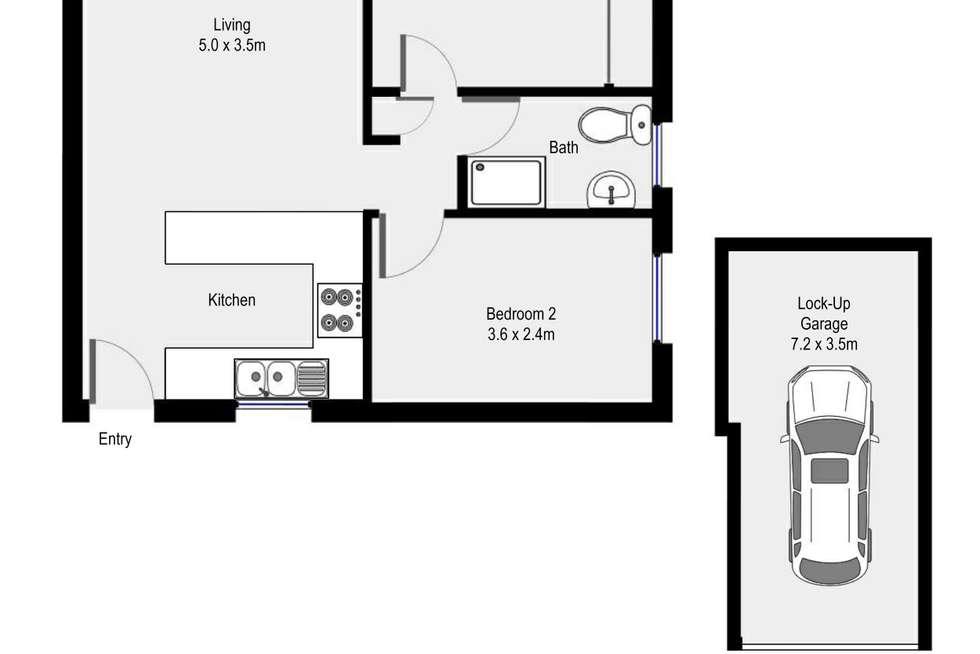 Floorplan of Homely apartment listing, 7/6 Burraneer Bay Road, Cronulla NSW 2230
