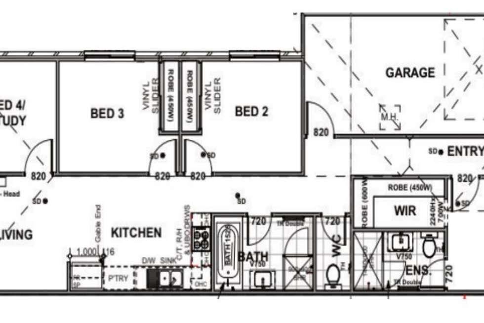Floorplan of Homely house listing, 9 Dora Street, Morayfield QLD 4506