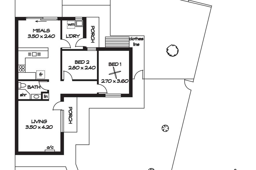 Floorplan of Homely house listing, 48 Verbena Drive, Parafield Gardens SA 5107