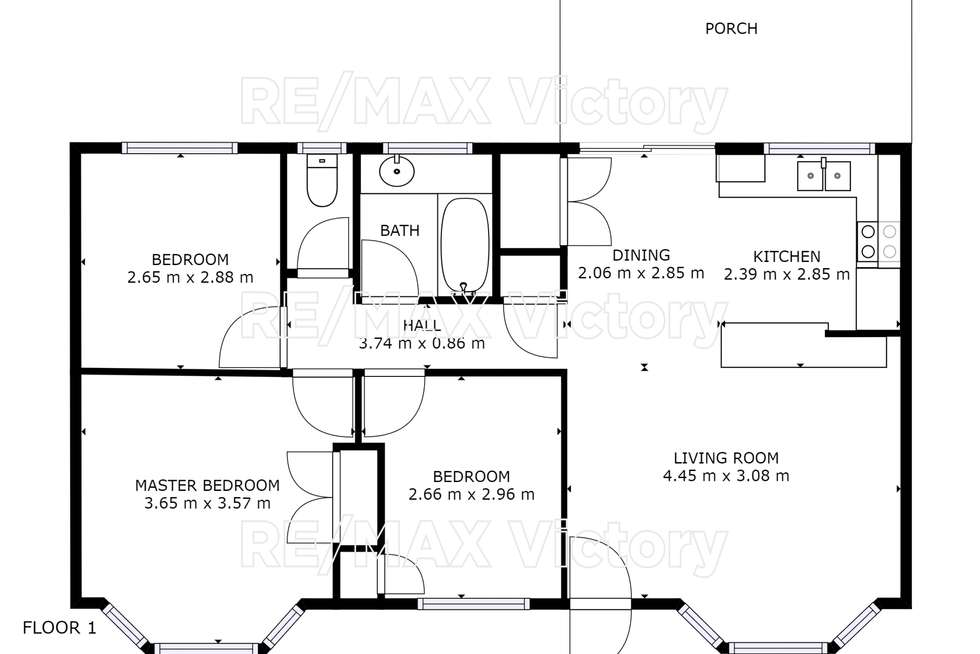 Floorplan of Homely house listing, 177 Toohey Street, Caboolture QLD 4510