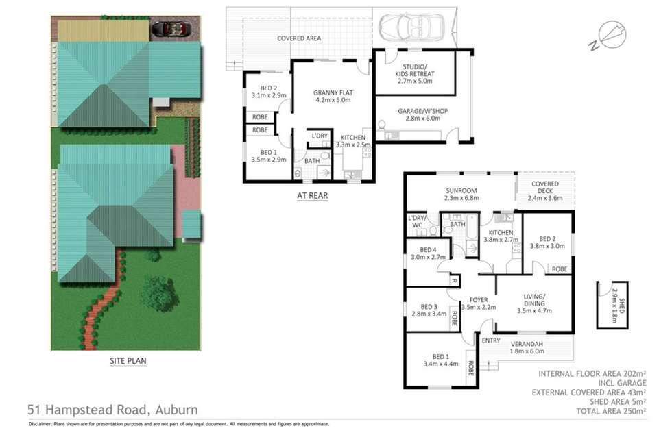 Floorplan of Homely house listing, 51 Hampstead Road, Auburn NSW 2144