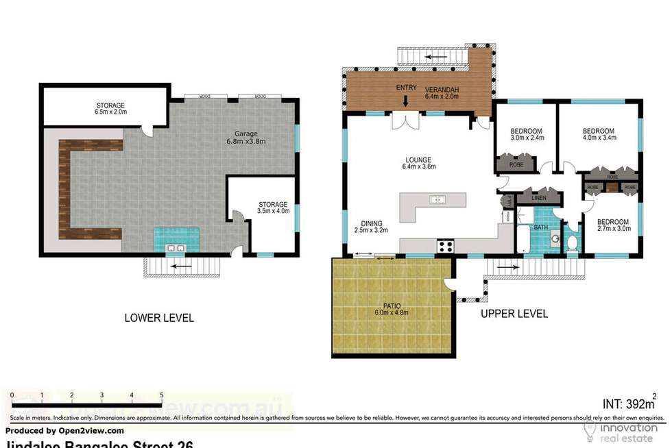 Floorplan of Homely house listing, 26 Bangalee St, Jindalee QLD 4074