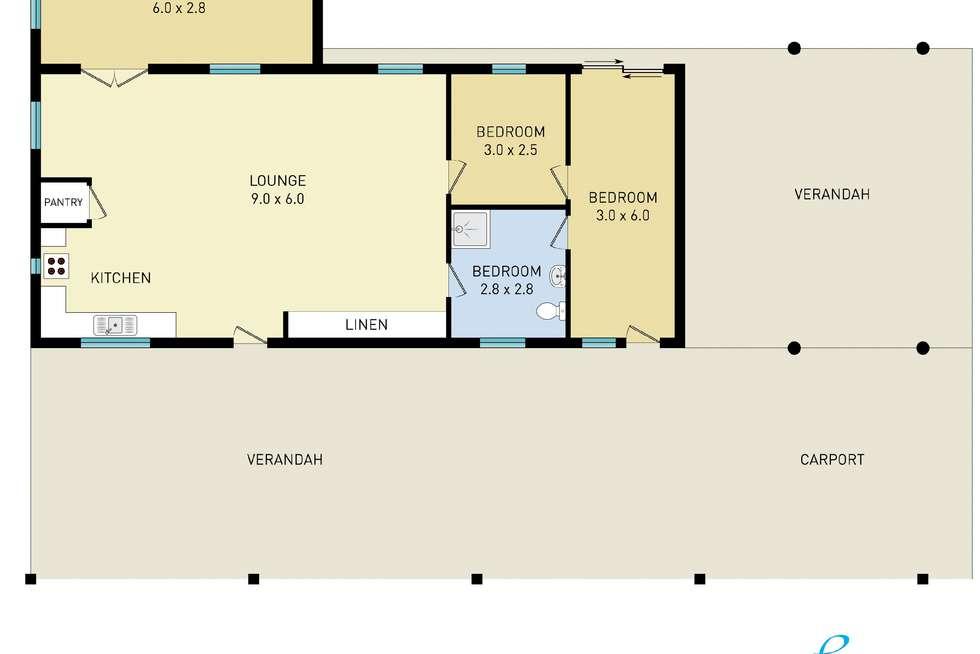 Floorplan of Homely house listing, 590 Gordonville Road, Bellingen NSW 2454