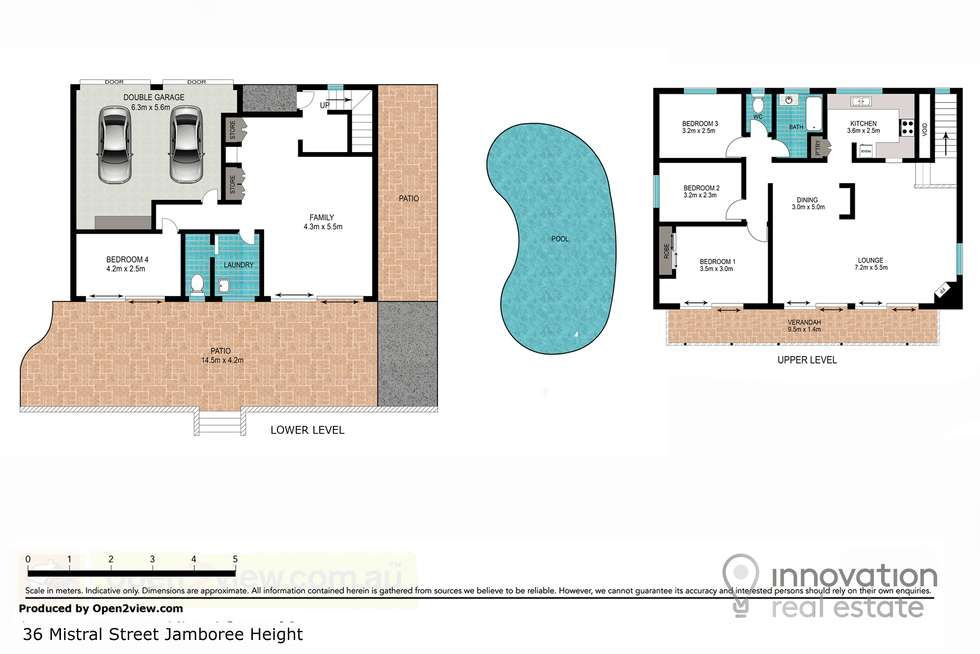 Floorplan of Homely house listing, 36 Mistral St, Jamboree Heights QLD 4074