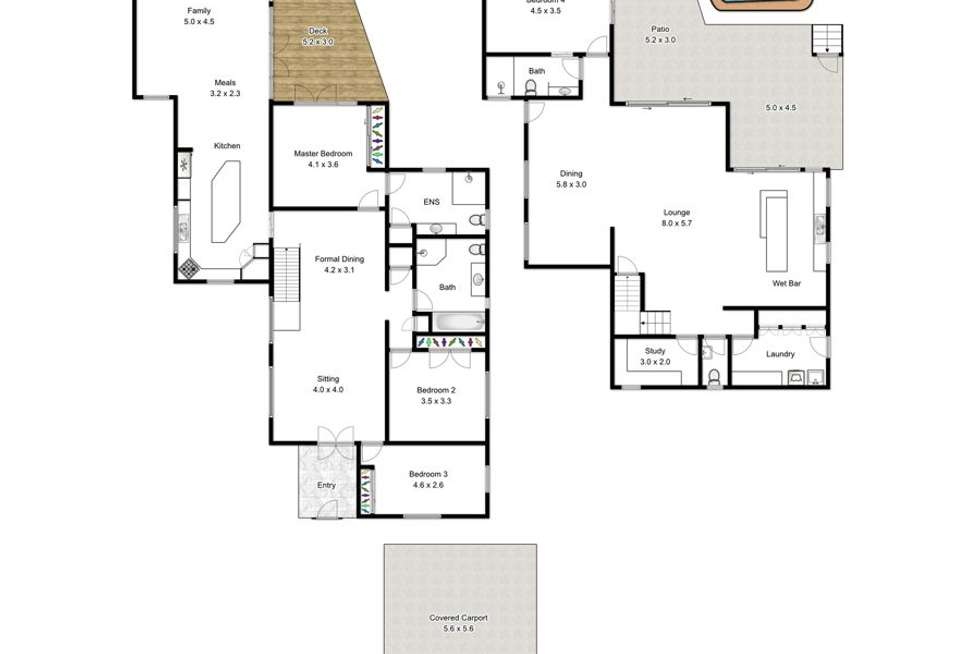 Floorplan of Homely house listing, 17 Gill Street, Holland Park QLD 4121