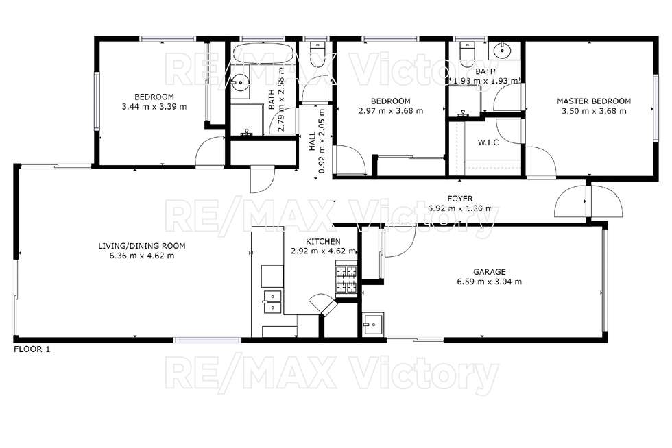 Floorplan of Homely house listing, 92 Bluestar Circuit, Caboolture QLD 4510