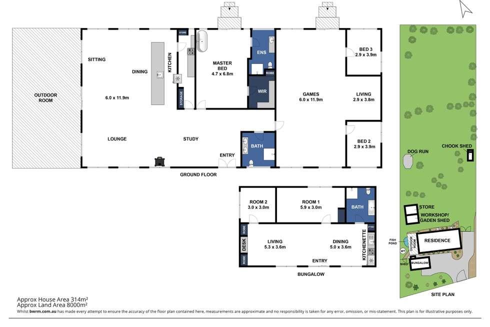 Floorplan of Homely lifestyle listing, 62 Rankin Road, Inverleigh VIC 3321