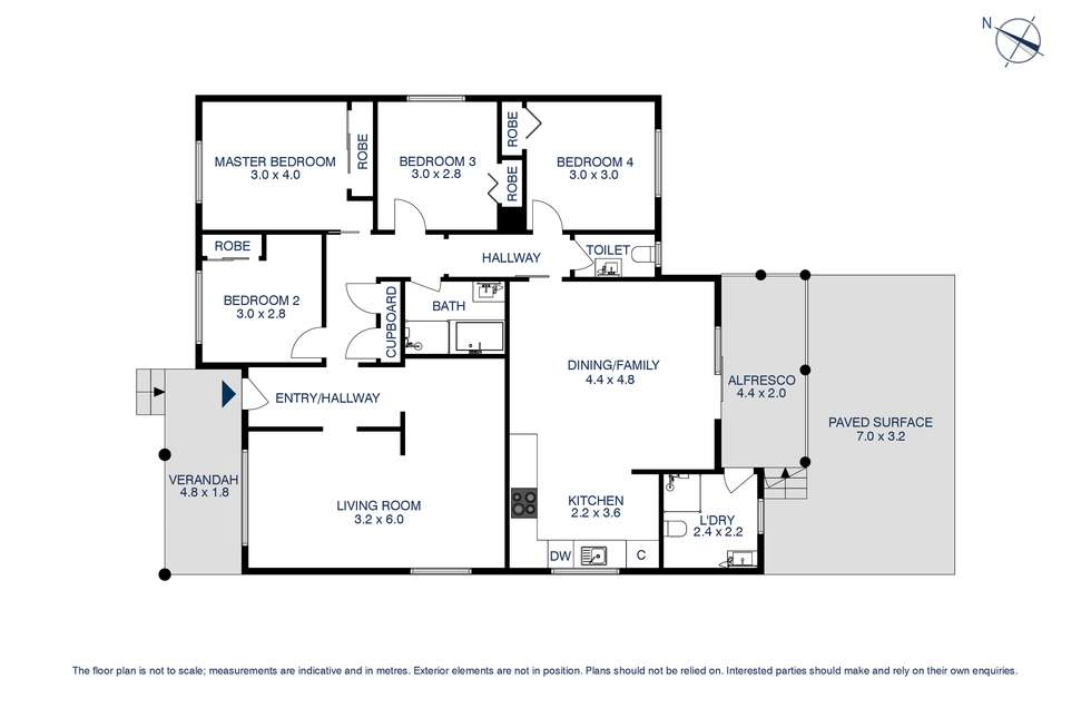 Floorplan of Homely house listing, 128 Mississippi Road, Seven Hills NSW 2147