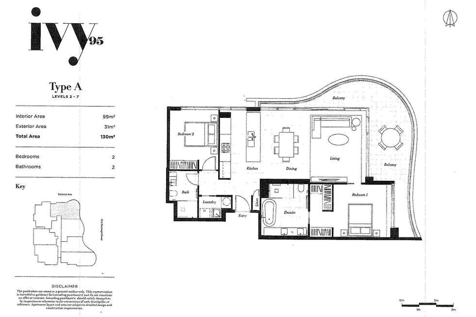 Floorplan of Homely apartment listing, 501/95 Old Burleigh Road, Broadbeach QLD 4218