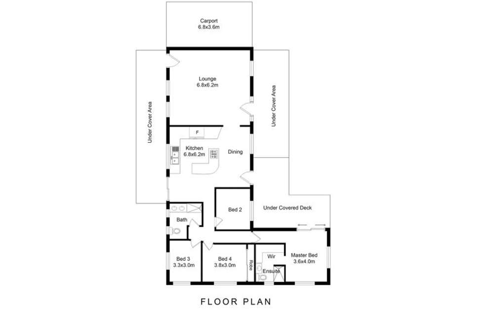 Floorplan of Homely acreageSemiRural listing, 17 Gordons Crossing Road East, Joyner QLD 4500