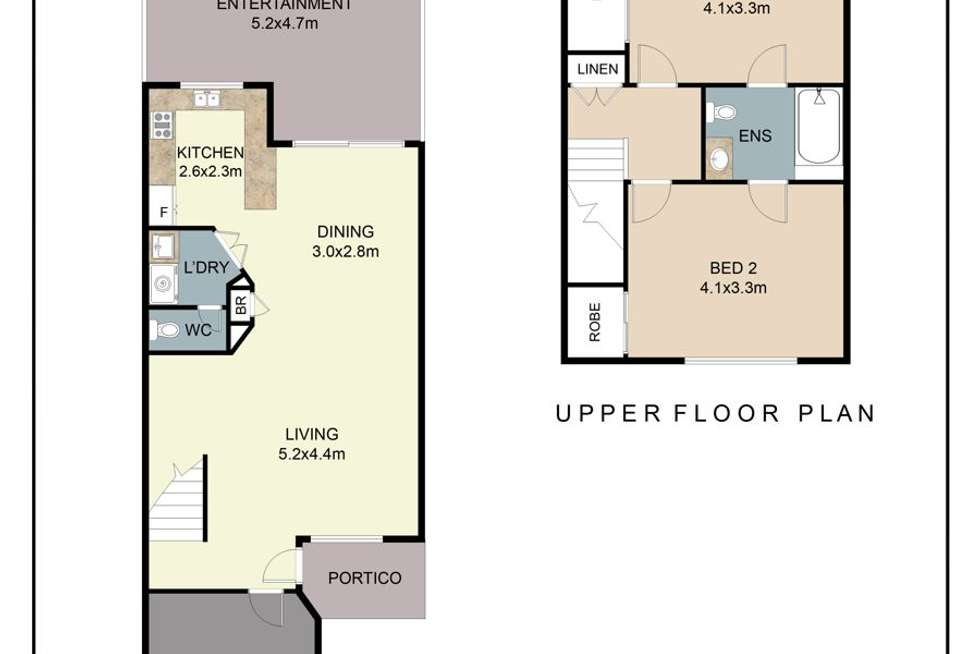 Floorplan of Homely townhouse listing, 17/17-19 Burpengary Road, Burpengary QLD 4505