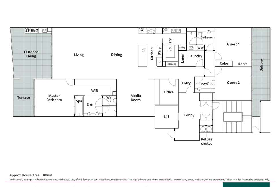 Floorplan of Homely unit listing, 14/10 Serenity Close, Noosa Heads QLD 4567