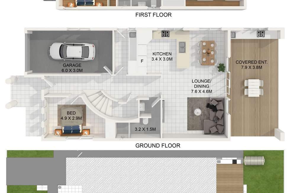 Floorplan of Homely house listing, 53 Monitor Road, Merrylands NSW 2160
