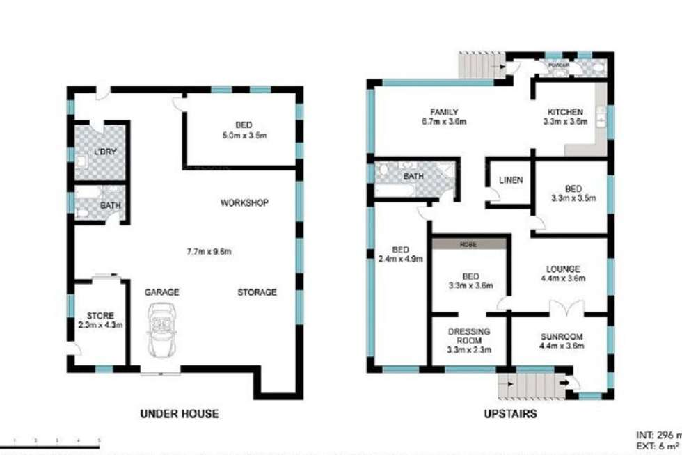 Floorplan of Homely house listing, 86 Walnut Street, Wynnum QLD 4178