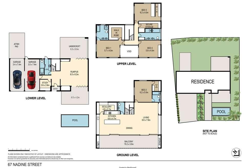 Floorplan of Homely house listing, 67 Nadine Street, Graceville QLD 4075