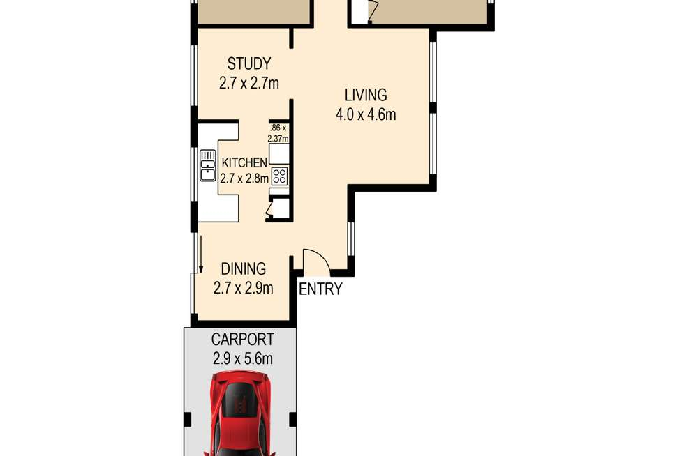 Floorplan of Homely house listing, 22 Honeywell Street, Tingalpa QLD 4173