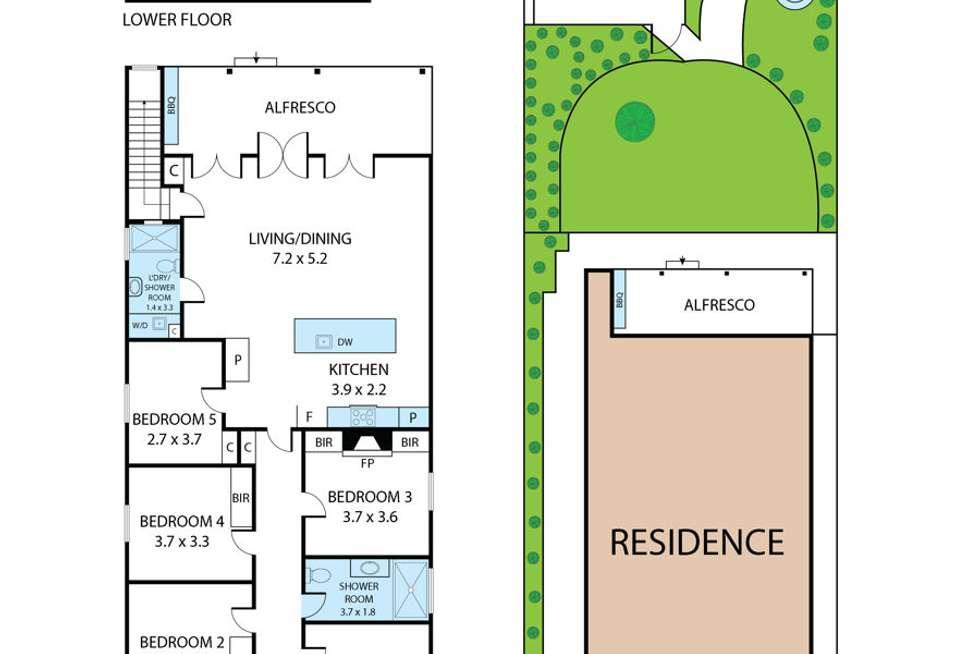 Floorplan of Homely house listing, 40 Fox Street, Wagga Wagga NSW 2650