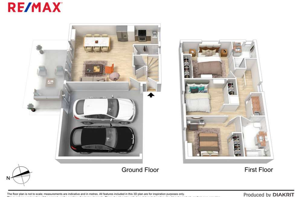 Floorplan of Homely townhouse listing, 6/32 Herbertson Road, Carina Heights QLD 4152
